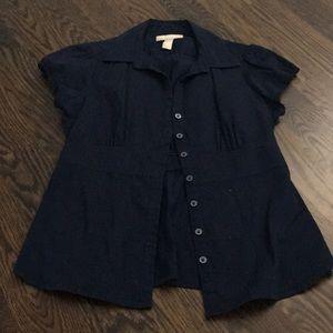 Tops - Banana Republic Button Up Short Sleeve Shirt